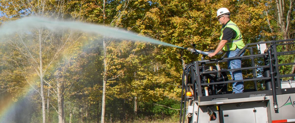 Apex Hydroseeding<br> Equipment by Fecon